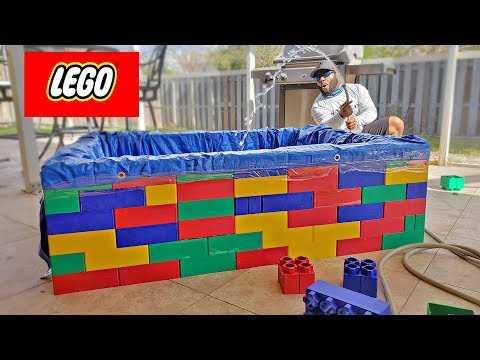 HUGE LEGO Fish POND!!! DIY