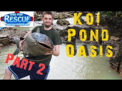 Aquascape builds OFRs Pond 2