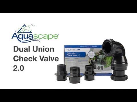 Pond Product – Aquascape Dual Union Check Valve 2.0