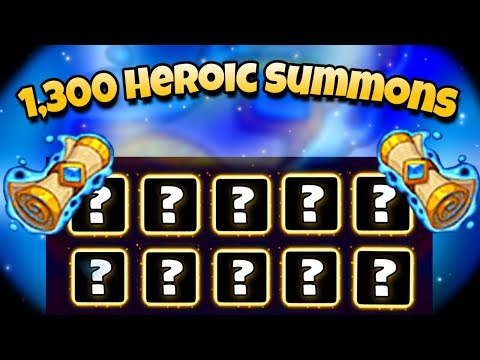 Idle Heroes (O+) – 1,300 Heroic Summons! – Opening 1000+ Koi Fish Boxes