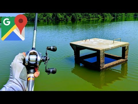 Finding JUICY Lakes & Ponds w/ Google Maps (Fishing Adventure!)