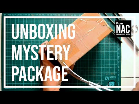 Unboxing mystery package from NAC ~ Nazar Aquascape Custom