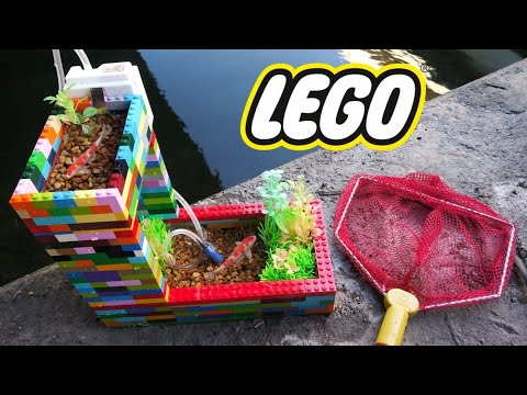 BEST DIY LEGO Fish POND AQUARIUM!