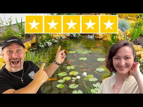 You're Gonna LOVE This *FIRST CLASS POND*