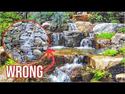 WATERFALL Done WRONG | Garden Water Feature