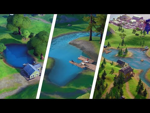 Catch a Fish at Lake Canoe, Lazy Lake, and Flopper Pond Locations – Fortnite