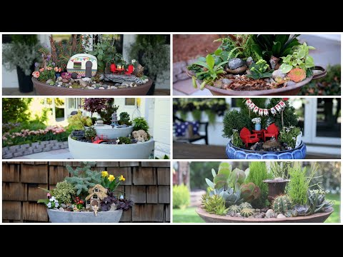 6 Ideas for Miniature Gardens With Water Features 🌿💦