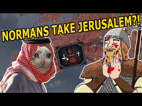 THE NORMANS TAKE JERUSALEM!? – CK2 THE CONQUEROR ACHIEVEMENT RUN!