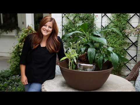 Creating a Water Garden with Waterfall 🌿💦 // Garden Answer