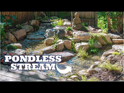 PONDLESS WATER STREAM & FALLS
