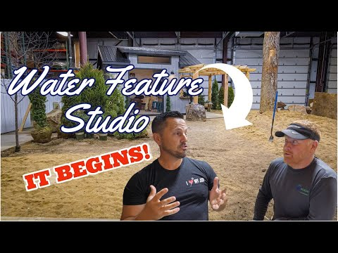 Water Feature ARTIST STUDIO – Part 1