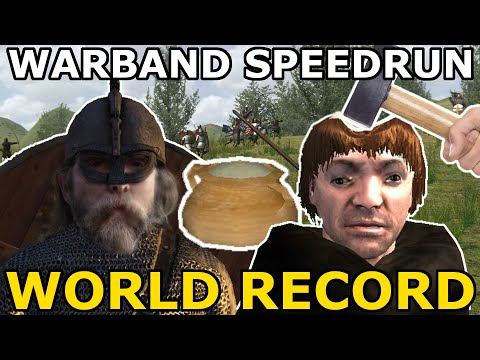 3 WARBAND SPEEDRUN WORLD RECORDS IN ONE VIDEO – Mount and Blade Warband
