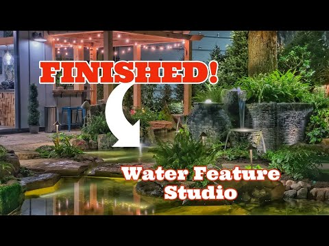 WATER FEATURE Artist Studio – FINISHED