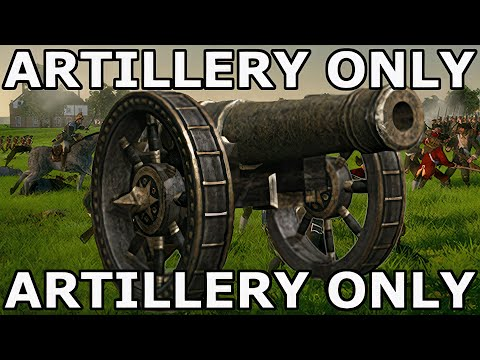 Real Artillery Hours – Total War Artillery Only Challenge
