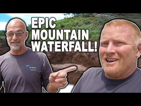 Epic *WATERFALL* Construction in Utah – Part 1