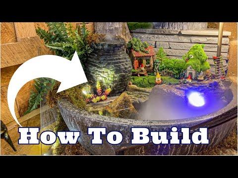 PATIO POND & AQUA GARDEN | How To Build