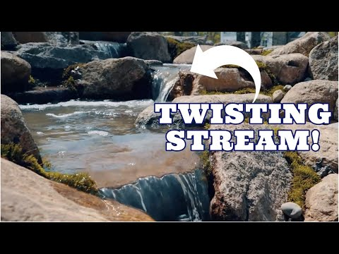 Twisting STREAM & WATERFALL | How To Patio Falls