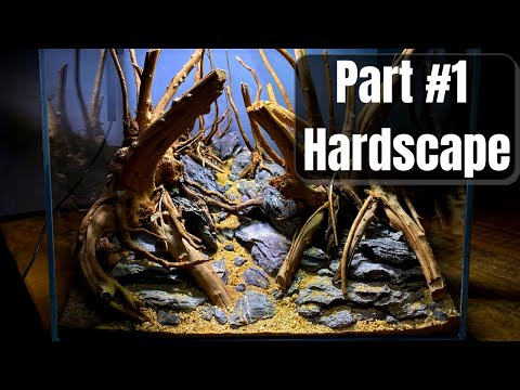 Beginners Guide To Making A Forest / Jungle Style Aquascape – Part 1 Hardscape