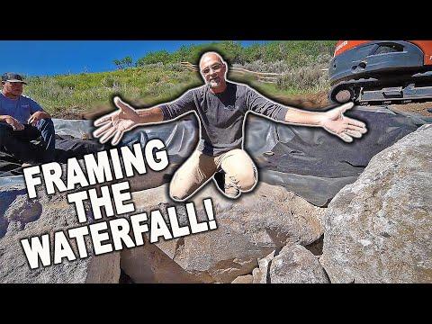 *Pondless Waterfall* Design Tip: Framing Boulders – Part 3