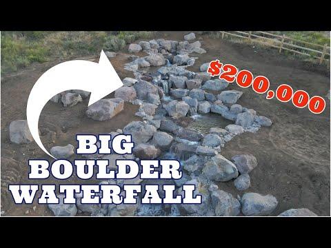 $200,000 LARGE BOULDER WATERFALL | Utah Pondless