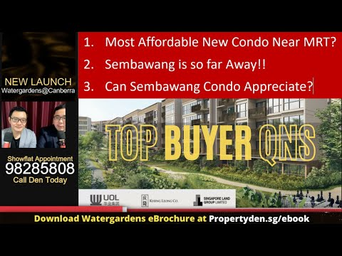 The WaterGardens at Canberra by UOL – New Condo Review | 4 Tough Qns