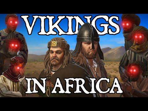 We tried to Survive as VIKINGS in Africa in Crusader Kings 3… Here's What Happened