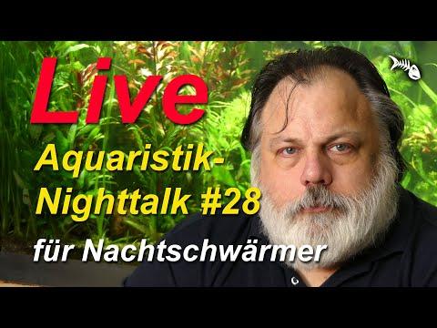 LIVE – AQUARIUM NIGHTTALK #28. Aquaristik für Nachtschwärmer mit Q&A